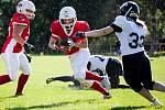 Dvaadvacetiletá útočnice Fastavu Zlín Tereza Kubicová se ve volných chvílích věnuje také americkému fotbalu