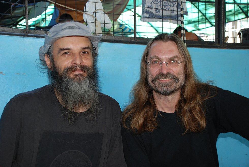 Foto z Manily, kde je Jaroslav Dobeš zadržovaný v detenčním zařízení společně s Barborou Pláškovou.