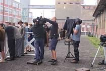 Ve Zlíně se natáčel film Zátopek.
