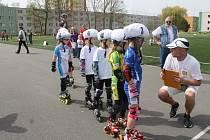 Malí sportovci se připravují ke staru na kůasifikačním turnaji Mistrovství České republiky, které se bude v květnu konat v Otrokovicích