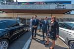 Místopředsedkyně vlády a ministryně financí České republiky Alena Schillerová na návštěvě ve Zlíně.
