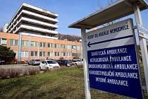 Krajská nemocnice T. Bati  ve Zlíně. Ilustrační foto