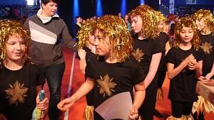 Taneční soutěž TanceR Cup ve sportovní hale Euronics ve Zlíně