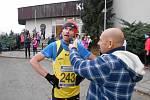 Tomáš Blaha běh v Jedovnici