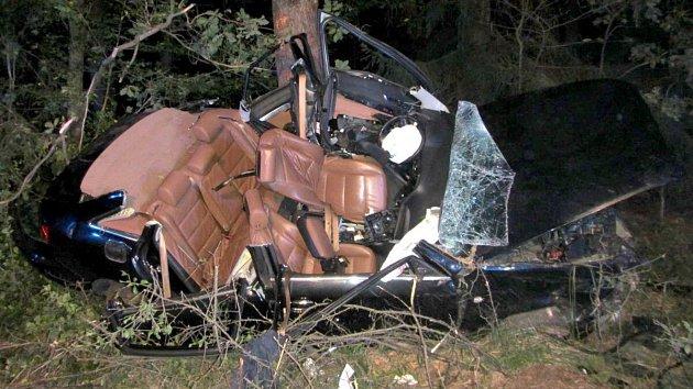 Nehoda audi u Potče