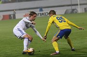 fotbal FC FASTAV Zlín - FC KodaňPeter Arkensen a Mirzad Mehanovič