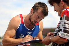 Sprinter Zdeněk Stromšík byl jednou z hvězd letošního zlínského mítinku.