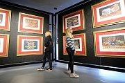 Výstava Salvator Dalí - Žiji sen ve Filmovém uzlu ve Zlíně.
