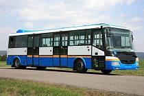 Tento elektrobus o délce 10,5m výrobce SOR budou celý měsíc zkoušet v provozu MHD ve Zlíně.