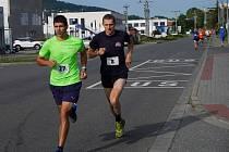 Běh na 2 míle ve Zlíně, září 2021