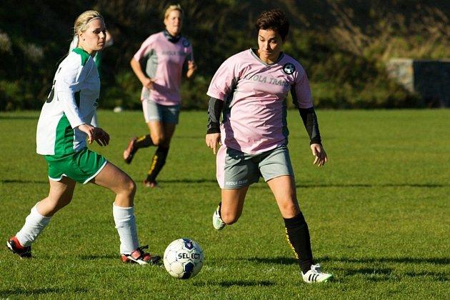 Fotbalová divize žen: Březnice - Mutěnice
