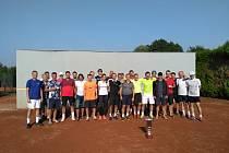 tenisový turnaj ve čtyřhře Memoriál Milana Dořičáka v Zašové 2019