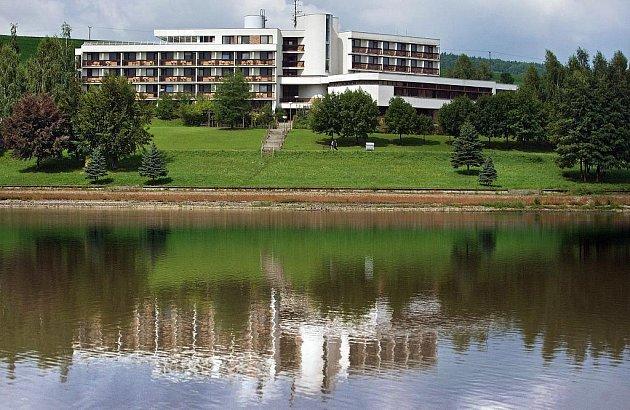 Luhačovická přehrada. Ilustrační foto
