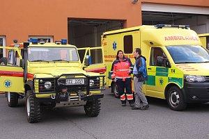 Den otevřených dveří Zdravotnické záchranné služby Zlín