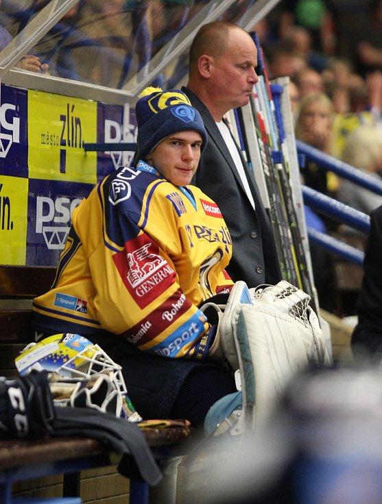 Daniel Huf na začátku sezony 2019/2020.