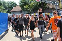 Poslední den, neděle 13. července, na Masters of Rock ve Vizovicích.