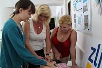Ženy ve Zlíně podpořily boj proti rakovině prsu