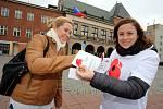 Den válečných veteránů  na náměstí Míru ve Zlíně.Jitka Andrysová.