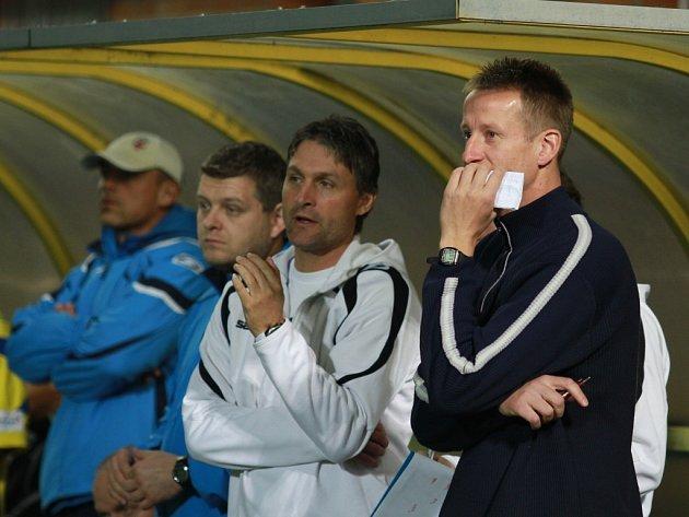 Marek Kalivoda, trenér fotbalového Zlína.