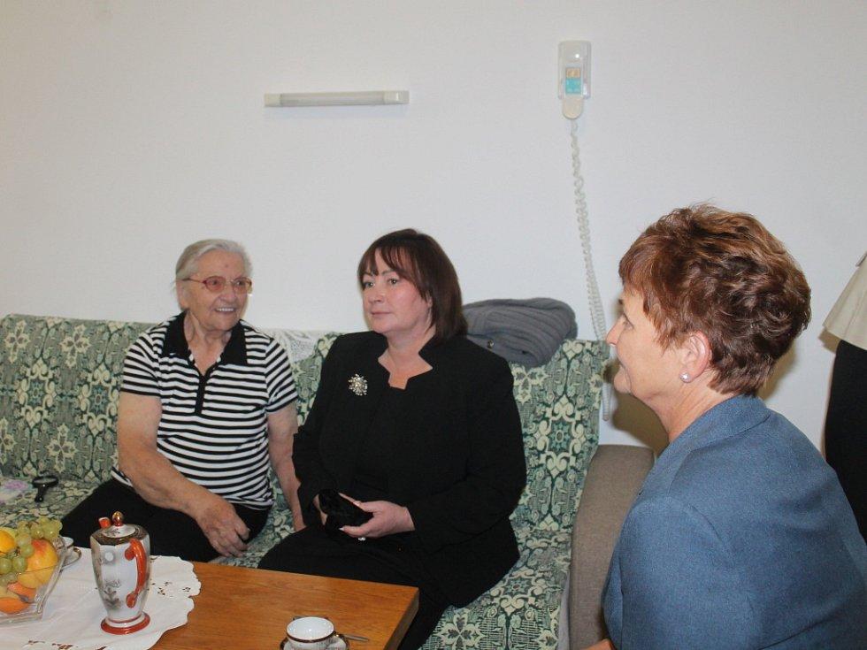 Setkání Ivany Zemanové v Naději – Domov pokojného stáří.