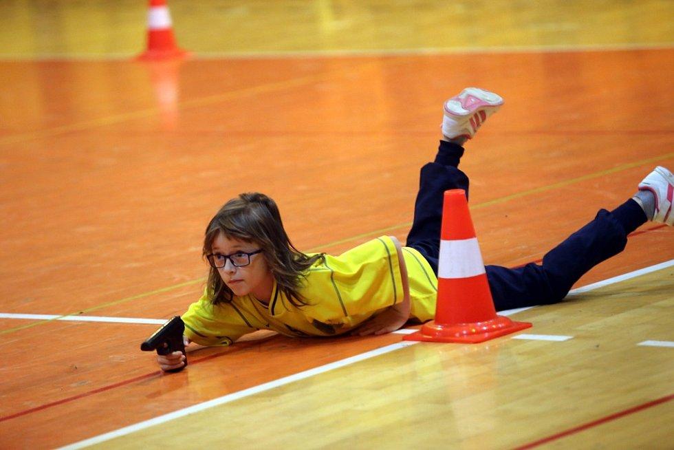 Soutěž pro děti Zlínský vorvaň 2016 ve sportovní hala ve Zlíně.