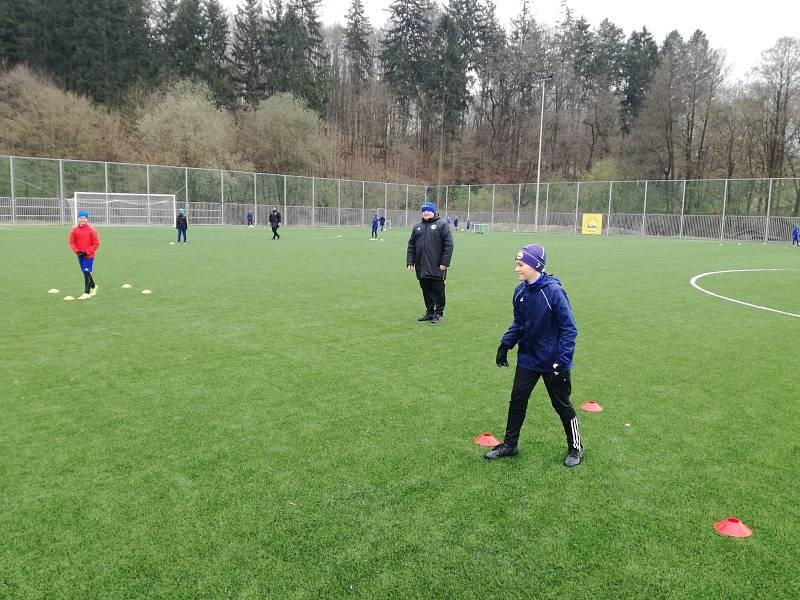 Mladí fotbalisté Fastavu se konečně dočkali.