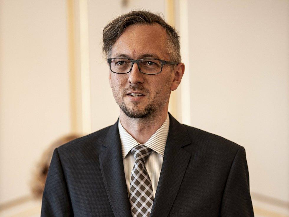 Starosta Slavičína Tomáš Chmela.