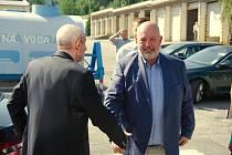 VaK Zlín navštívil ministr zemědělství Toman, spolu s náměstkem Kendíkem, a generálním ředitelem povodí Moravy Gargulákem