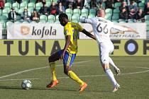 Fotbalisté Zlína proti Karviné. Ilustrační foto