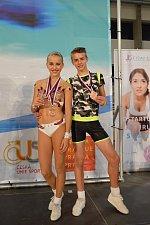 Zlínský klub získal na MČR ve sportovním aerobiku devět medailí