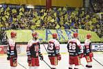 V rámci 38. kola extraligy hokejistů mezi Zlínem a Hradcem Králové vedení zlínského klubu ocenilo svého odchovance a současného trenéra Martina Hamrlíka, jehož dres s číslem 41 byl slavnostně vyvěšen pod strop Zimního stadionu Luďka Čajky.