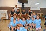 V Brumově-Bylnici se konal již 5. ročník fotbalového pod dohledem zkušeného fotbalisty. Zúčastnilo se jej téměř 70 dětí.