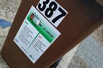Kontejnery na bioodpad ve Zlíně