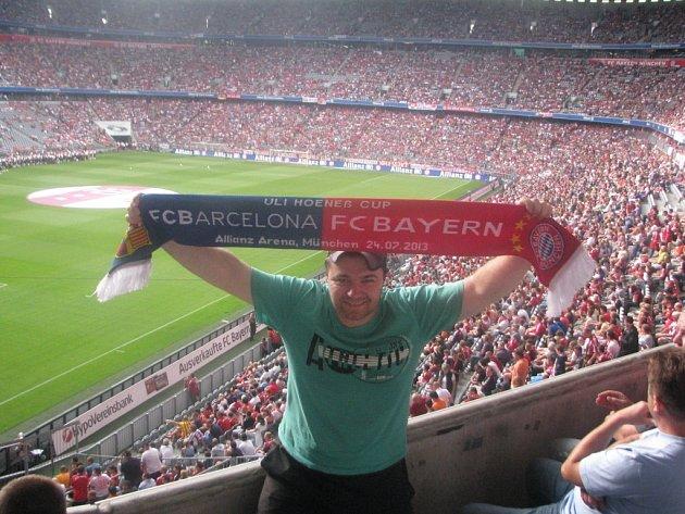 ALLIANZ arénu v Mnichově jsem letos navštívil už podruhé. Poprvé jsem byl na zápase.
