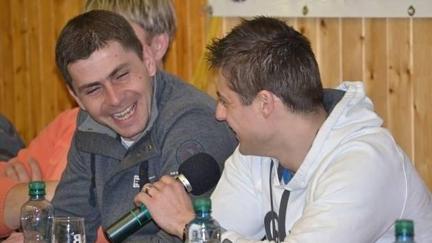 Tomáš Kostka ( v pravo) a Petr Starý