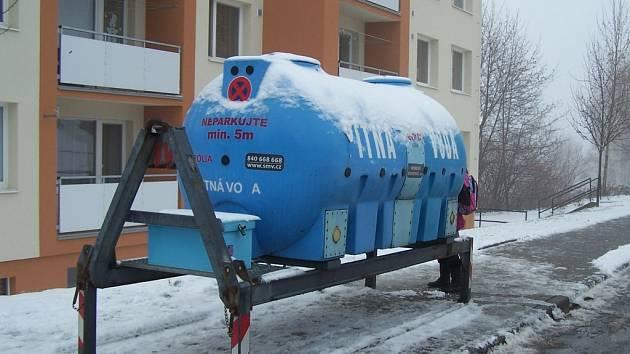 Cisterna. Ilustrační foto