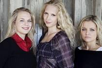 Puella trio. Zleva Tereza Fialová, Eva Karová a Markéta Vrbková.