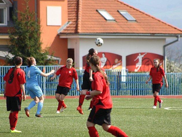 Foto z krajského fotbalového přeboru žen ze zápasu Uherský Brod - Brumov 0:1