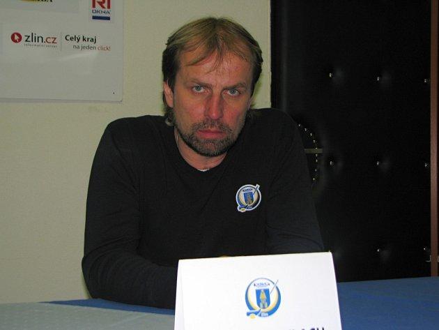 Trenér Zlína Rostislav Vlach
