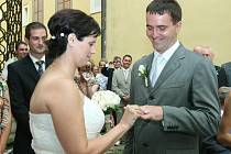 Věra a René Štěpaníkovi spolu chodili šest let, než našli pravý termín pro svatbu.