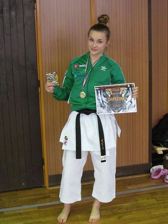 Světová šampionka Sabina Křižová