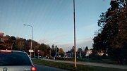 Dopravní nehoda na ulici Pasecká.