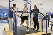 Fotbalisté Zlína ve čtvrtek zahájili zimní přípravu fyzickými testy na Fakultě tělesné kultury Univerzity Palackého v Olomouci. Foto: FC Fastav Zlín