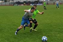 Fotbalisté Otrokovic proti Vrchovině
