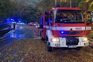 Tragická nehoda mezi obcemi Liptál a Jasenná, 25. 20. 2020