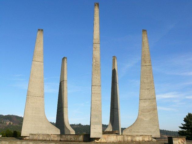 Památník Ploština, pamětní místo hrůz druhé světové války