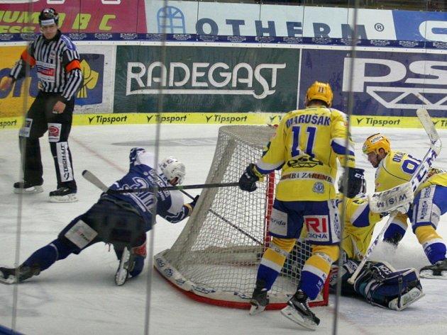 PSG Zlín - HC Škoda Plzeň.