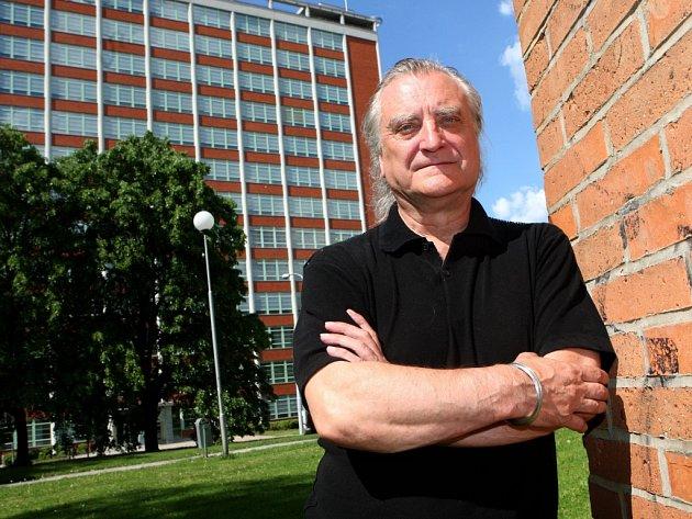 Architekt a designér Bořek Šípek ve Zlíně.
