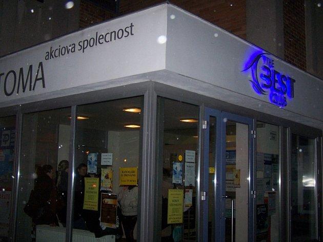 The Best Club v ulici Kvítková ve Zlíně