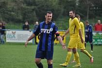 Slavičínský fotbalista Filip Macek